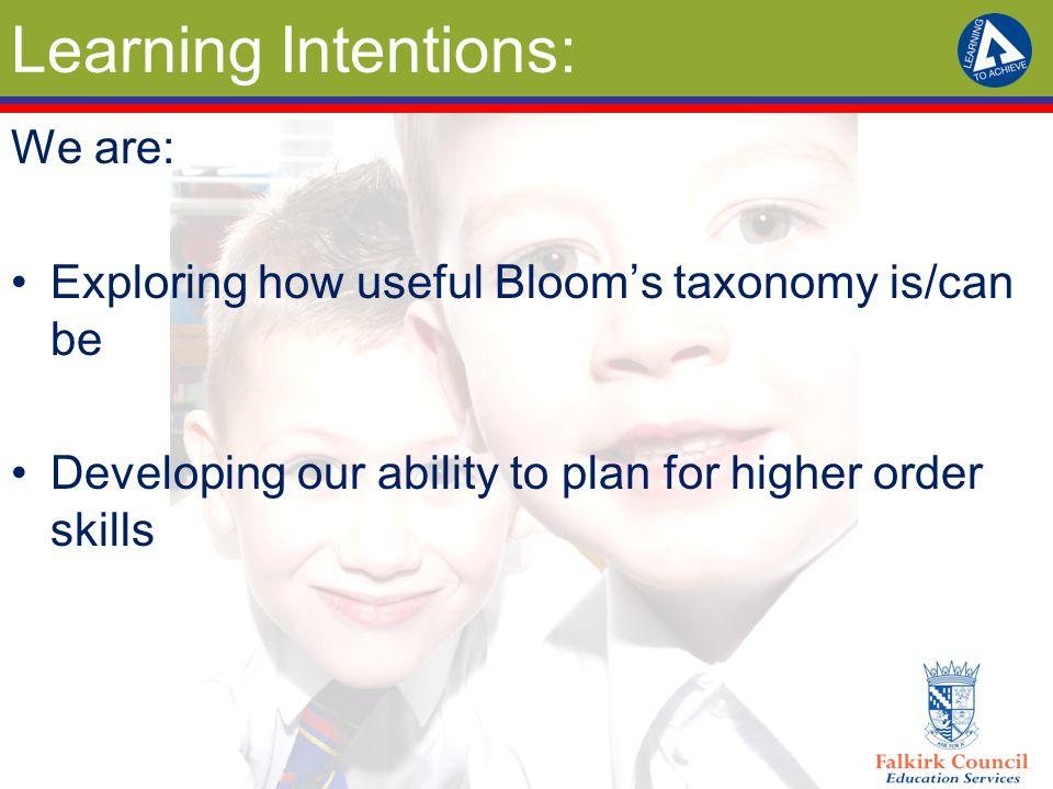 Let's Build a Bloom's