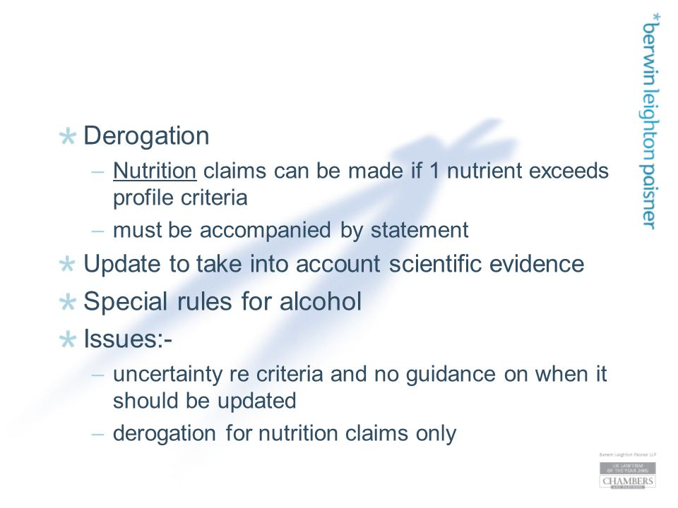 Step 3: Health Claims Reduction of disease risk claims} and} authorised Children's development and} health claims NB.