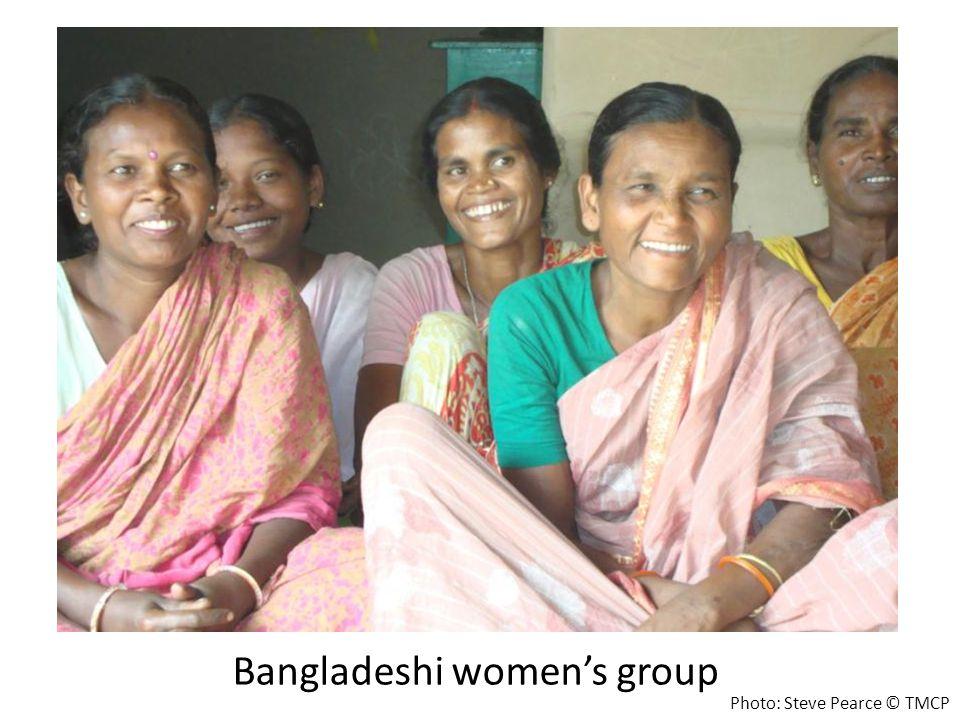 Bangladeshi women's group Photo: Steve Pearce © TMCP