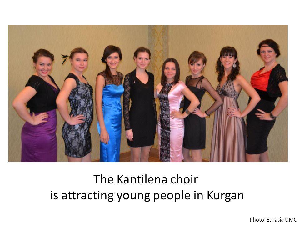The Kantilena choir is attracting young people in Kurgan Photo: Eurasia UMC