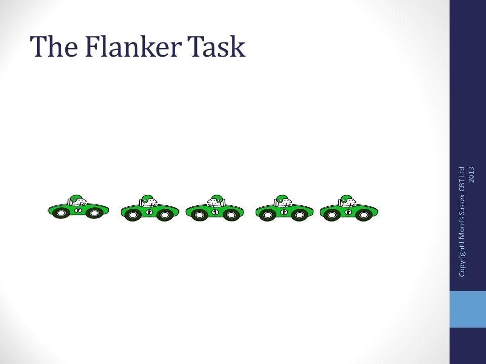 The Flanker Task Copyright J Morris Sussex CBT Ltd 2013