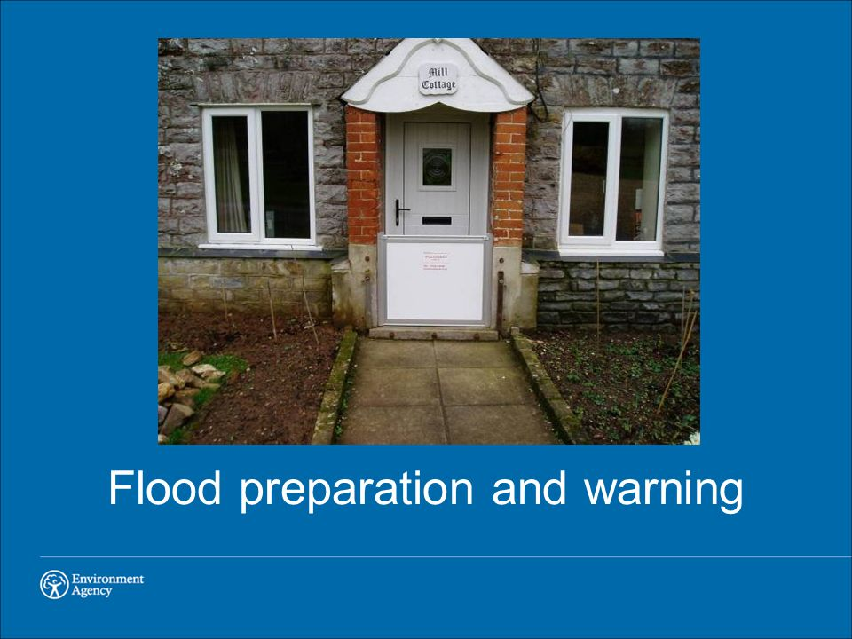 Flood preparation and warning