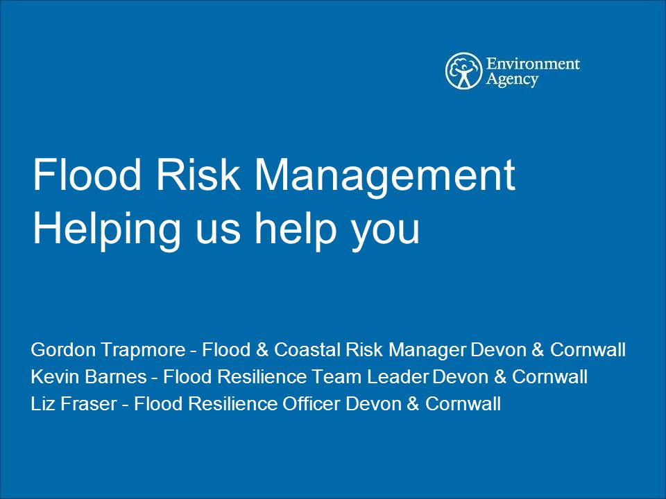 Flood Management Build and maintain defences Restrict development Forecast and warn Map flood risk Promote awareness Work with emergency responders Work with communities