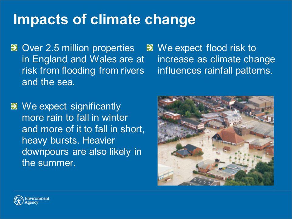 Sea level rise will increase coastal flooding.