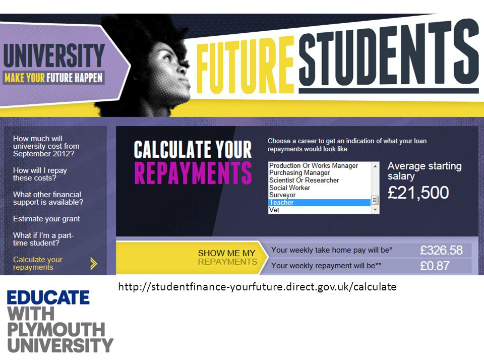 http://studentfinance-yourfuture.direct.gov.uk/calculate