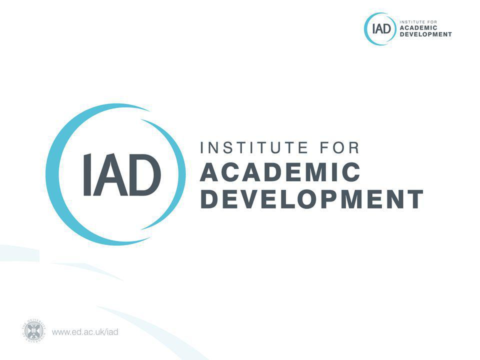 IAD Mission To provide University level support for teaching, learning and researcher development; through leadership, innovation, collaboration and direct provision that benefits students, staff and the University's international reputation.