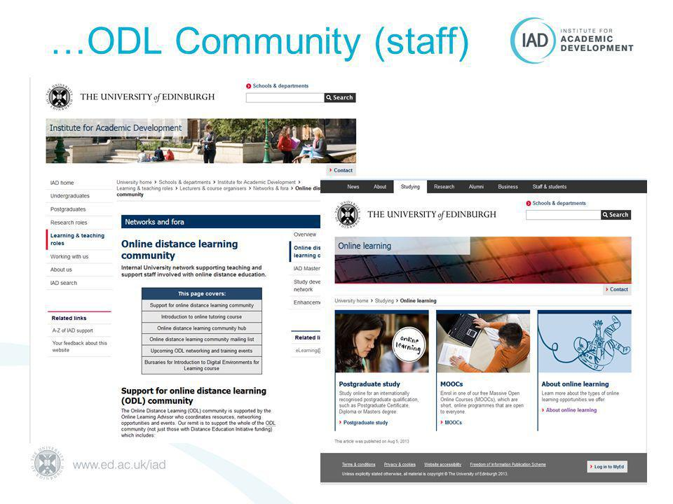…ODL Community (staff)