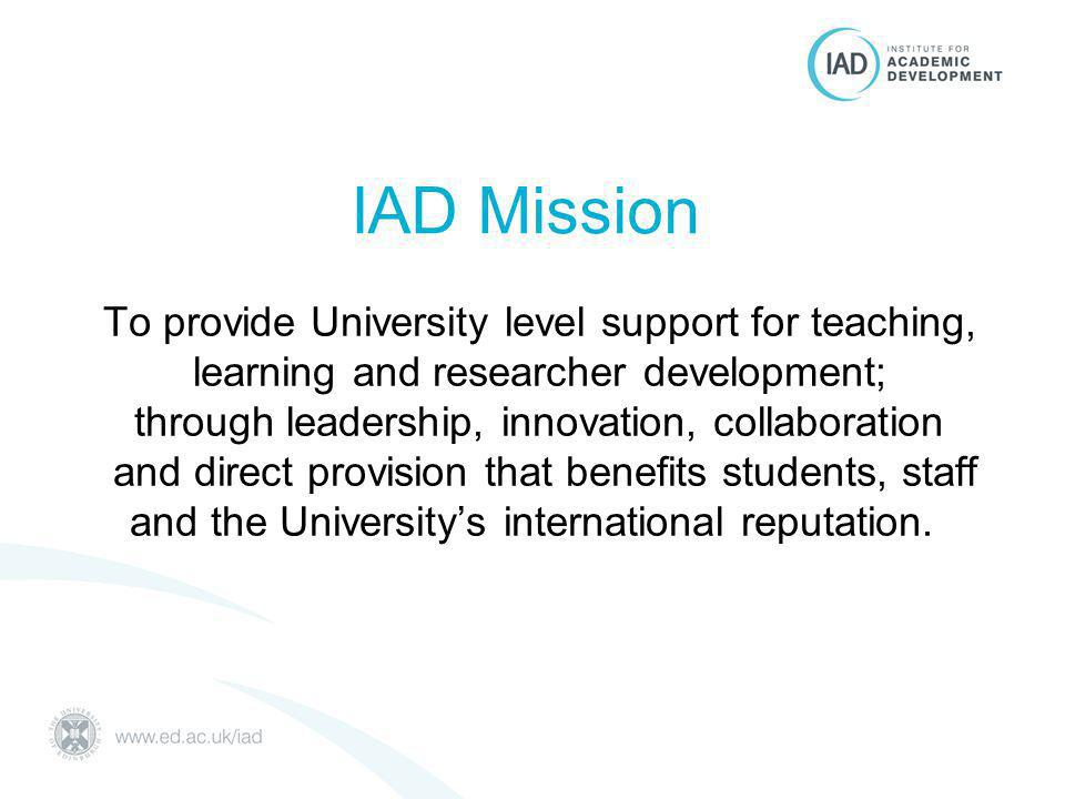 ILW project officer appointed to IAD –Alison Treacy, autumn 2012 200 events, 19 Schools Focus on inter-disciplinarity Increase in attendance Student buy-in –Bloggers & photographers at events Innovative Learning Week 2013