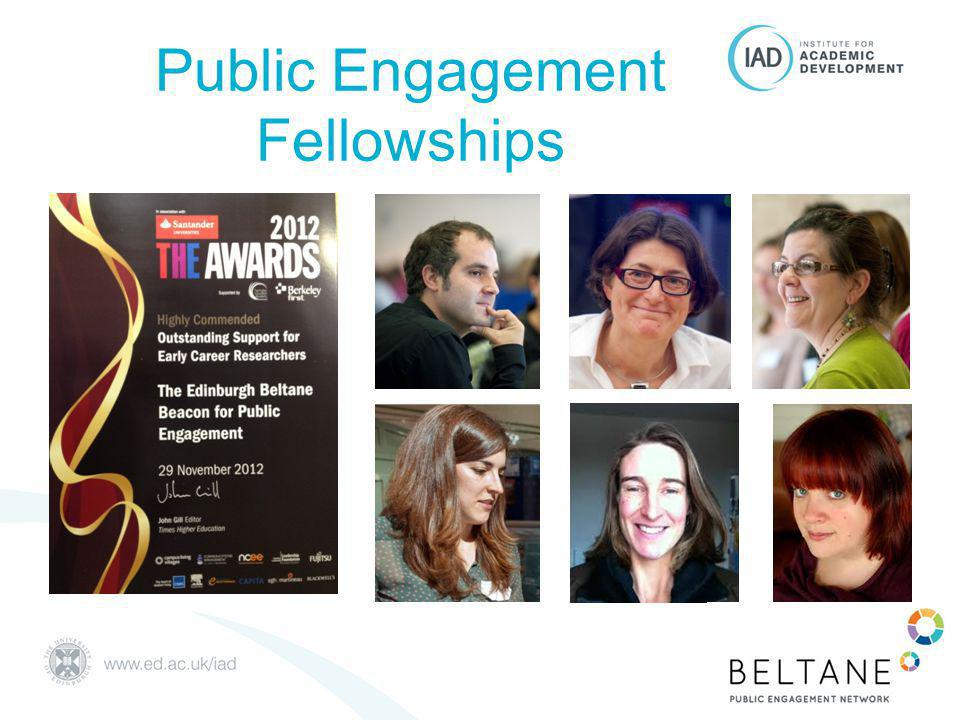 Public Engagement Fellowships