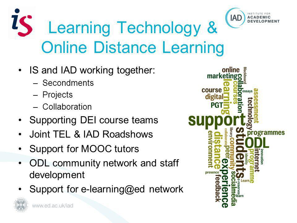 Support for undergraduate study development Web resources on academic good practice - new LearnBetter - self enrol study skills resource reorganised & expanded Twilight session workshops - new Quick Consultations – advertised via Senior Tutors & Student Support Teams Preparing for study web pages - new