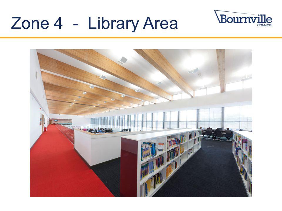 Zone 4 - Library Area