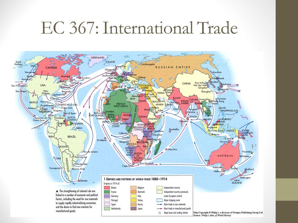 EC 367: International Trade