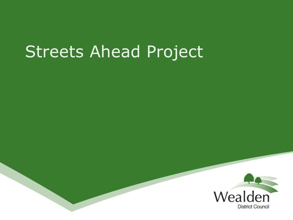 Streets Ahead Project
