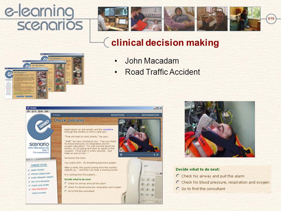 7/10 interactivity Jessica Tate scenario Simulating abdominal palpation