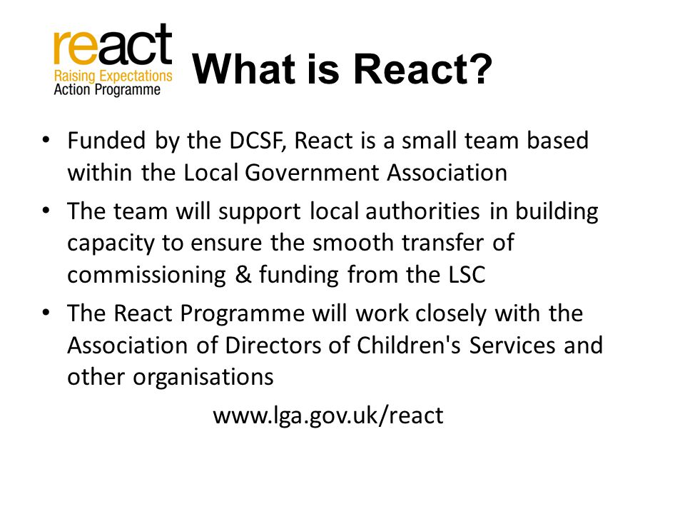 What is React.