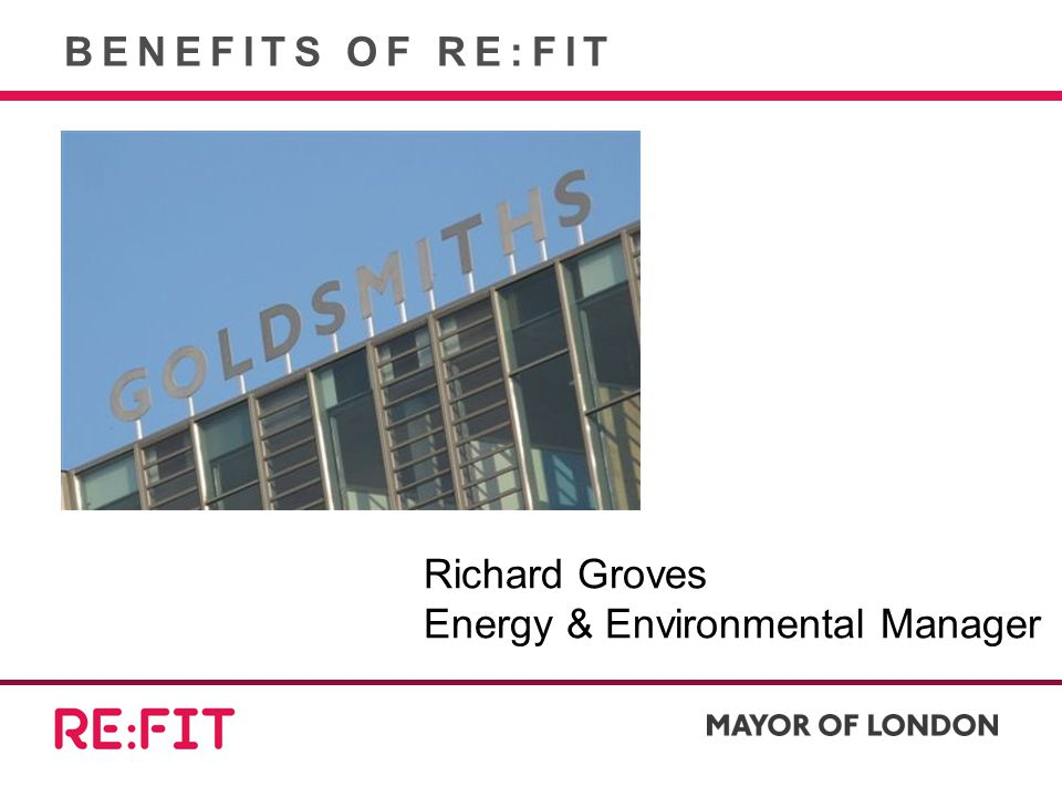 Richard Groves Energy & Environmental Manager