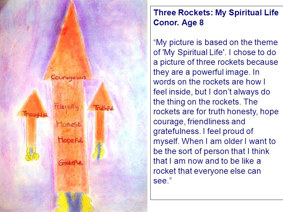 Three Rockets: My Spiritual Life Conor.