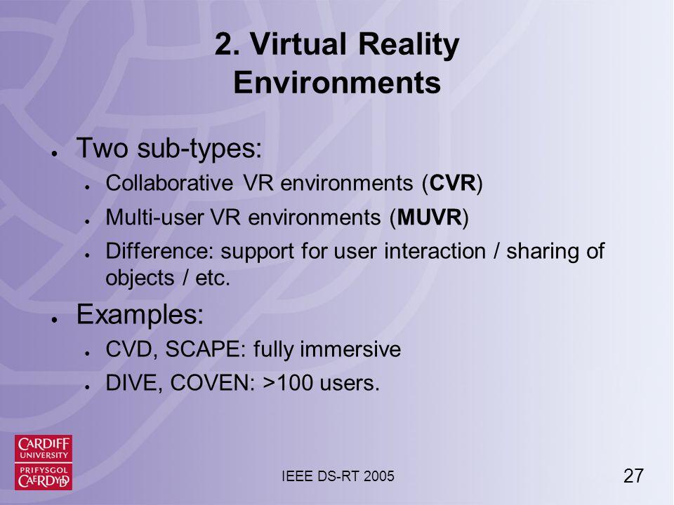 27 IEEE DS-RT 2005 2.
