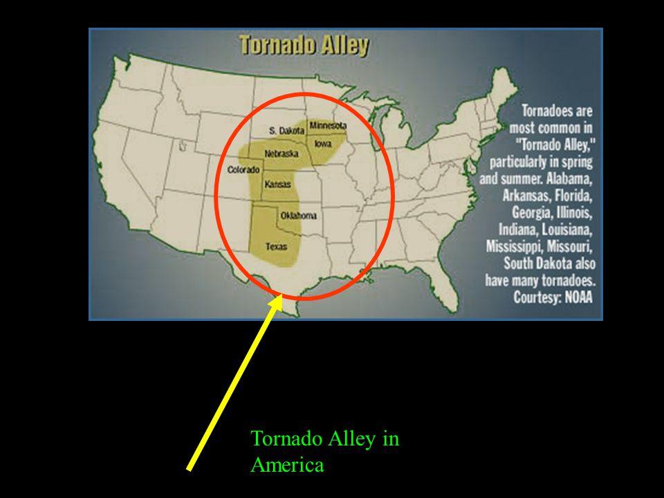 Tornado Alley in America