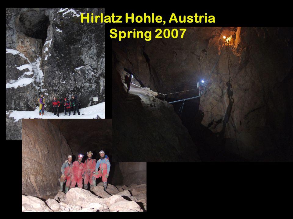 Hirlatz Hohle, Austria Spring 2007