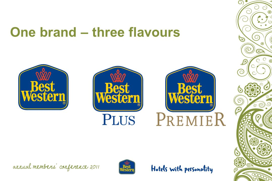 One brand – three flavours