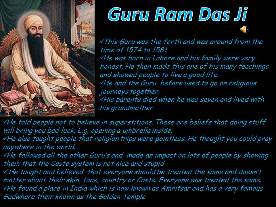 He was born in 1479 but, became a Guru in 1552.