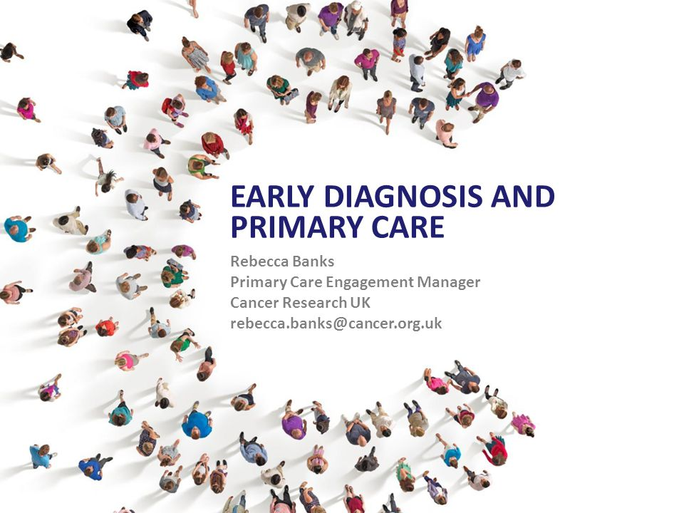 National Awareness and Early Diagnosis Initiative (NAEDI) Public sector / third sector partnership Provide leadership & drive the earlier diagnosis of cancer
