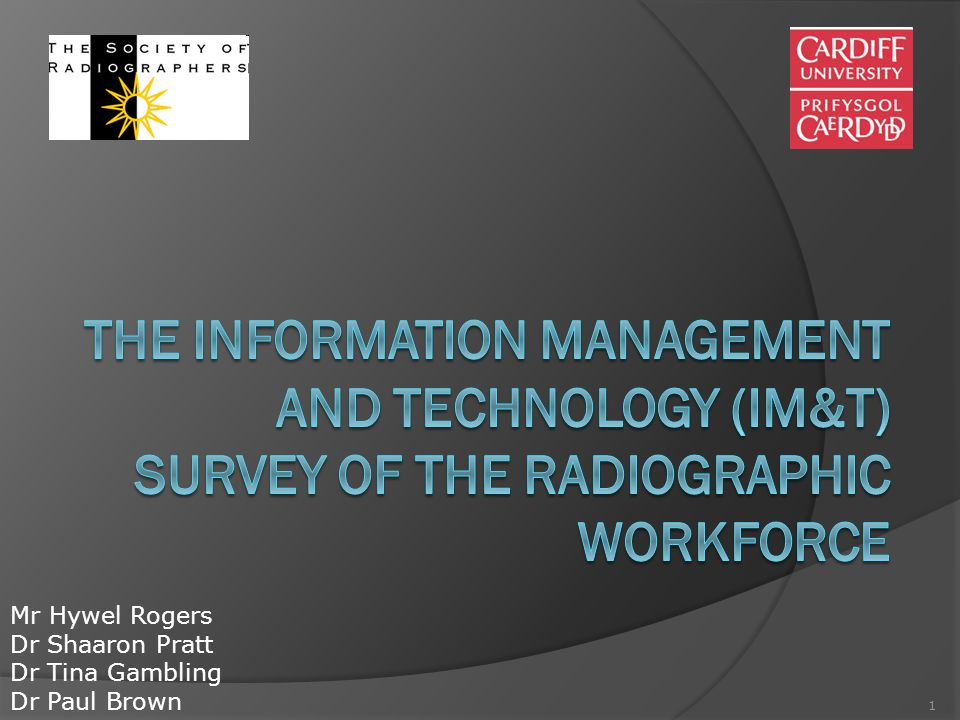 12 Response  1,443  1,232 (85.4%) diagnostic radiographers  211 (14.6%) therapeutic radiographers