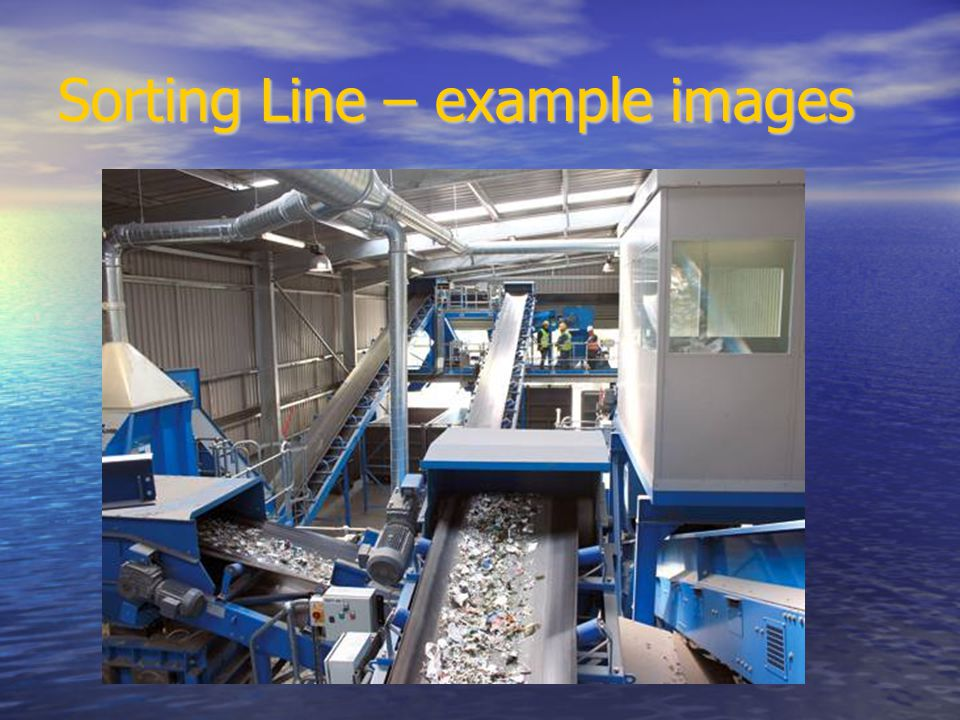 Sorting Line – example images