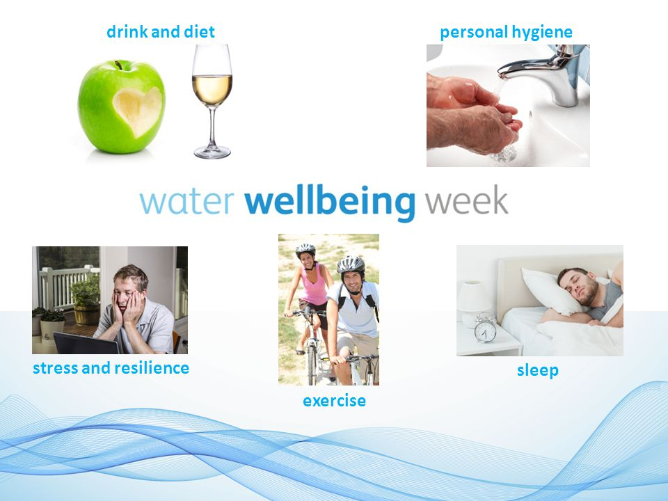 drink and dietpersonal hygiene stress and resilience exercise sleep