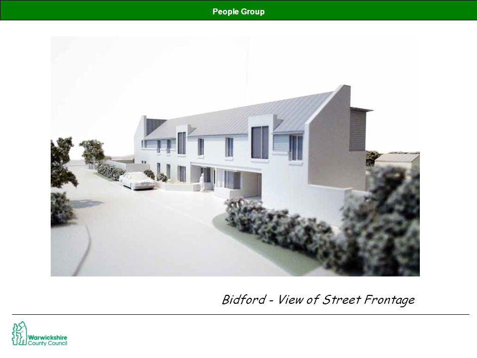 People Group Bidford - View of Street Frontage