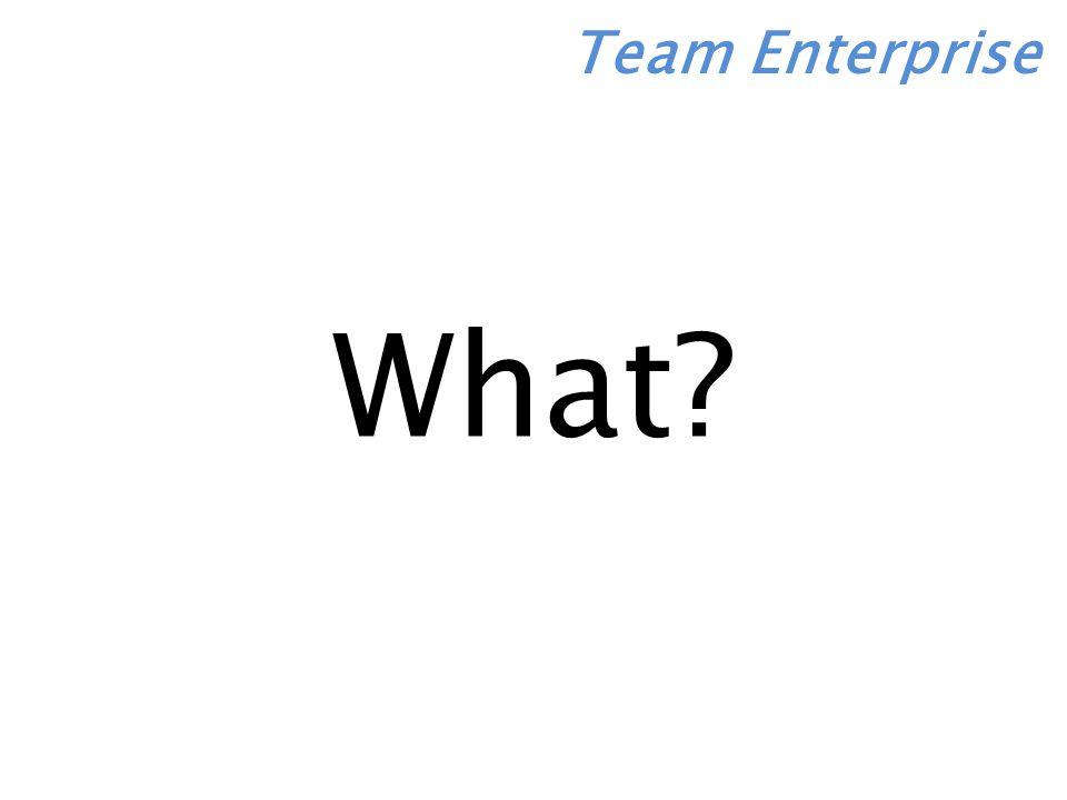 What Team Enterprise
