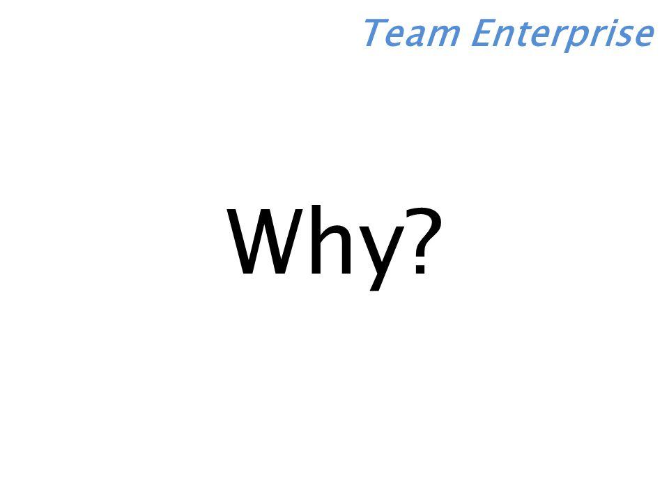 Team Enterprise Why