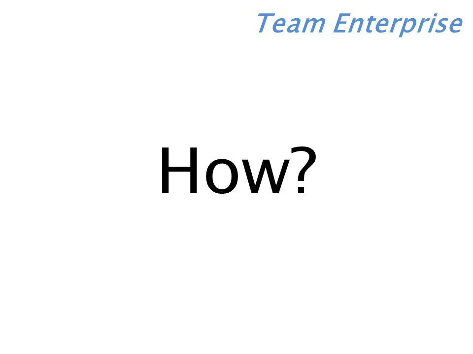 Team Enterprise How
