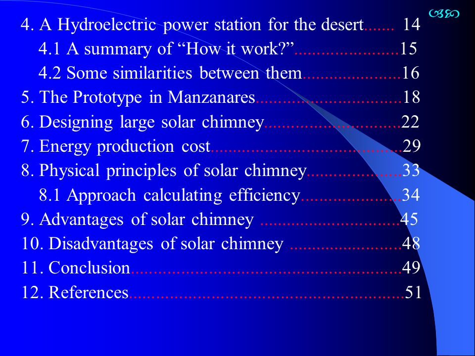 8.1 Approach Calculating Efficiency The Collector A solar chimney collector converts available solar radiation G onto the collector surface A coll into heat output.