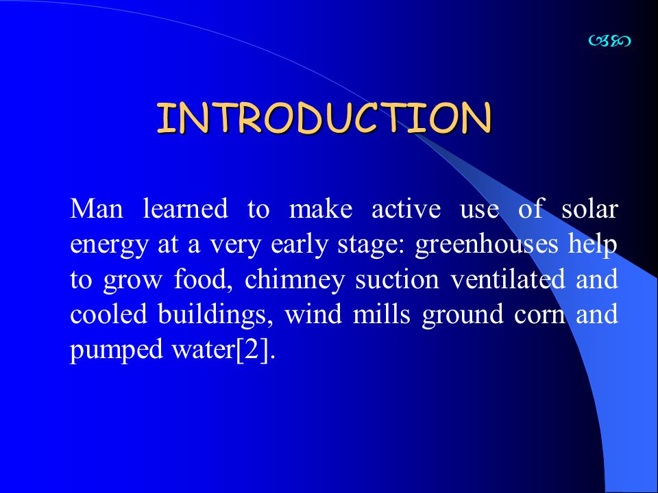 HOW DOES A SOLAR CHIMNEY WORK.