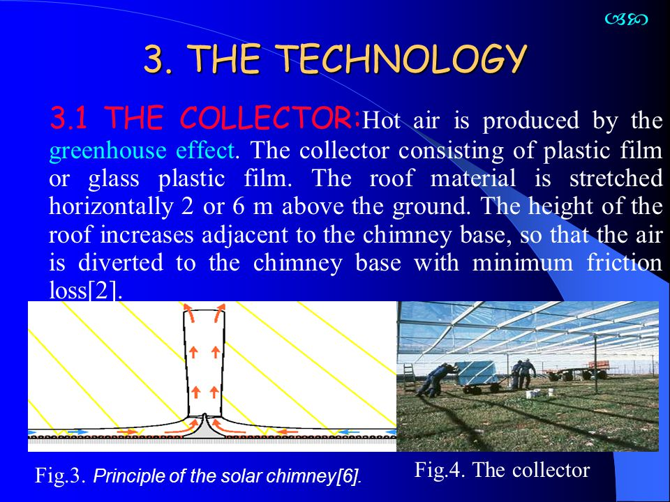 With the support of construction companies, the glass industry and turbine manufacturers are rather exact cost estimate for a 200 MW solar chimney could be compiled.