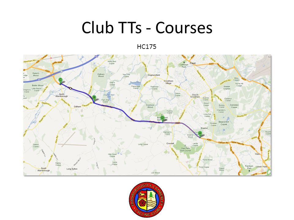 Club TTs - Courses HC175