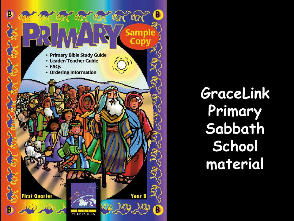 GraceLink Primary Sabbath School material