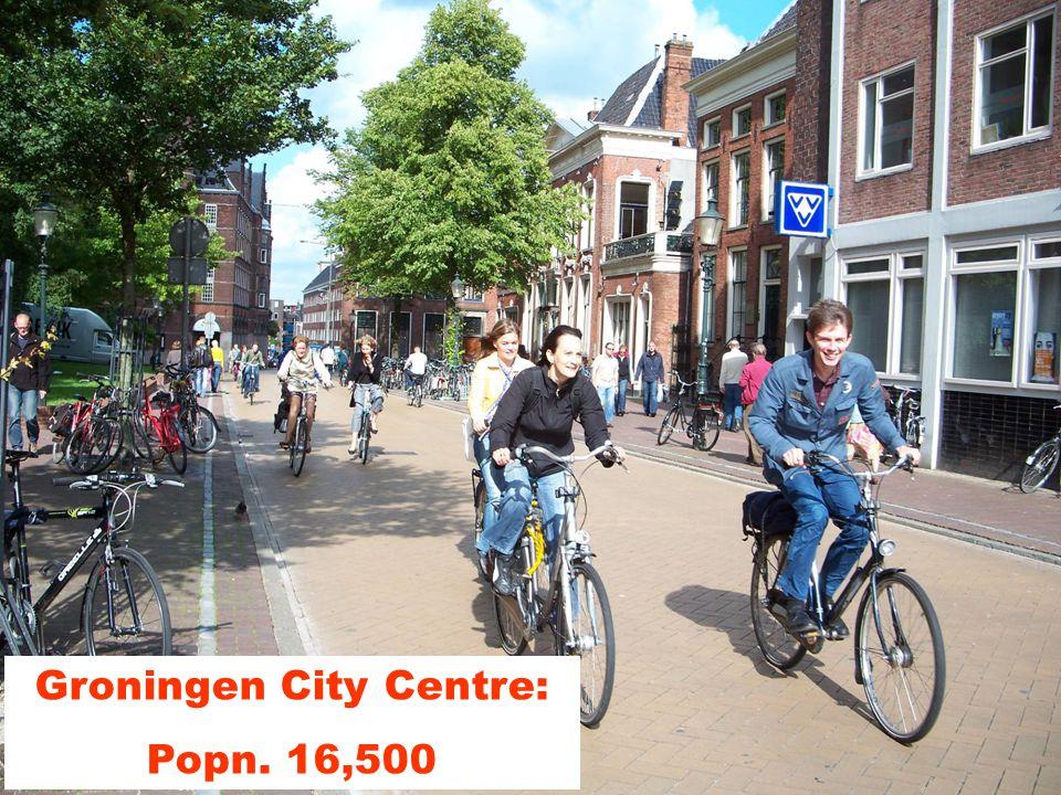 Groningen City Centre: Popn. 16,500