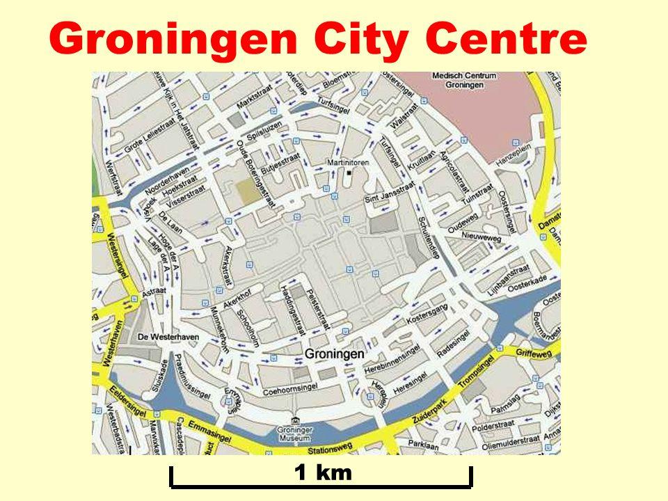 Groningen City Centre 1 km