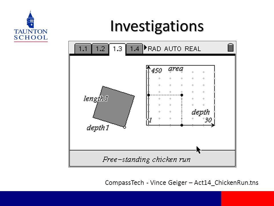 Investigations CompassTech - Vince Geiger – Act14_ChickenRun.tns