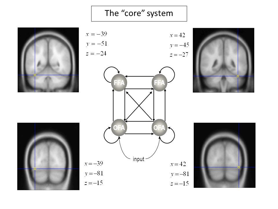 OFA FFA input The core system