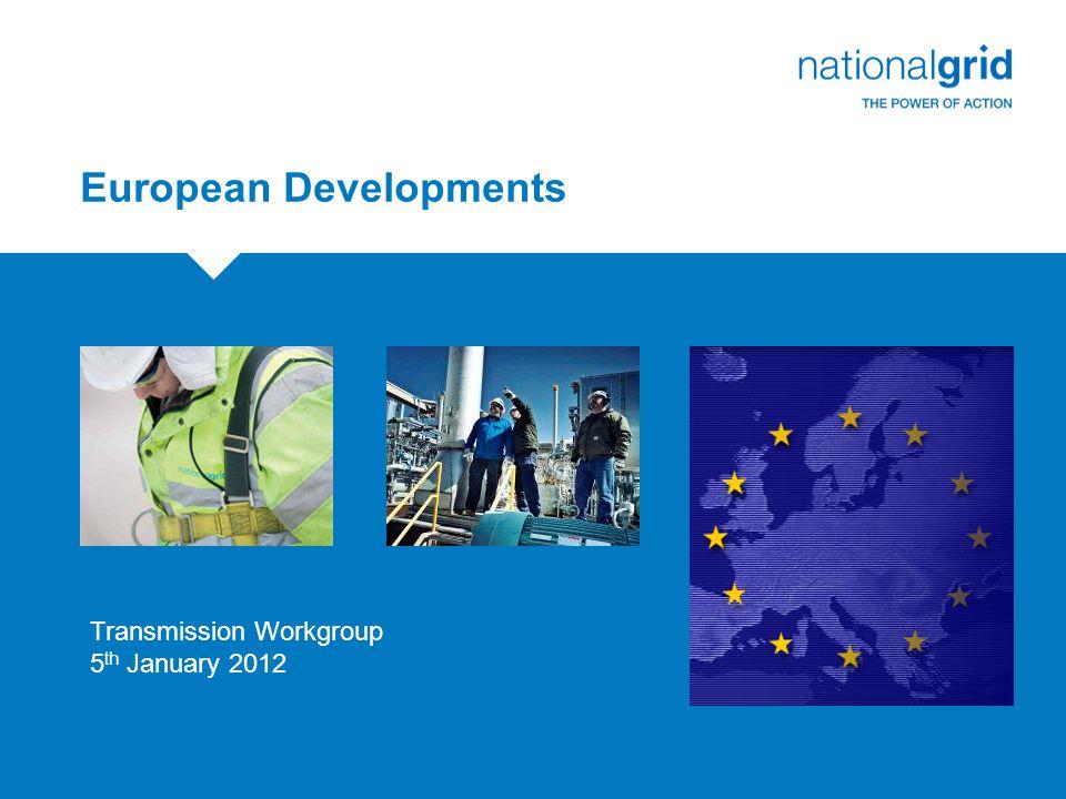 European Gas Balancing Network Code Update Chris Shanley