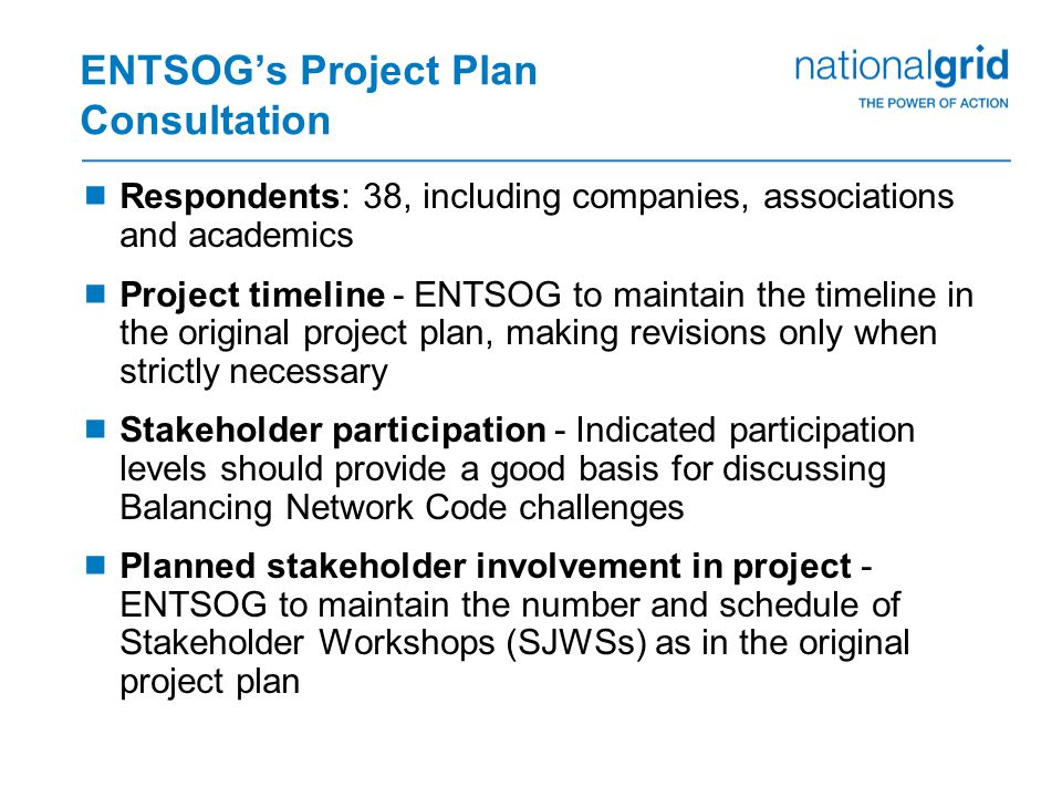 EU Updates Timetable  Timetable aims to highlight the key items (consultations, workshops, decisions, etc.) NG NTS expect to cover via this agenda item in the forthcoming months TopicTX Workgroup CAM & CMP UpdateFeb 2nd 2012 Interoperability - National Grid NTS response to FG consultation Gas Regional Investment Plan (GRIP) Consultation Feedback.
