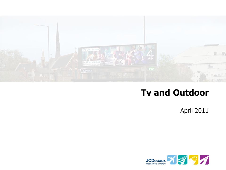 Tv and Outdoor April 2011