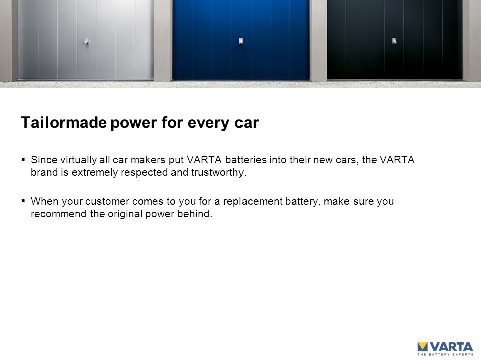 What power for which vehicle. The choice of vehicles today is immense.