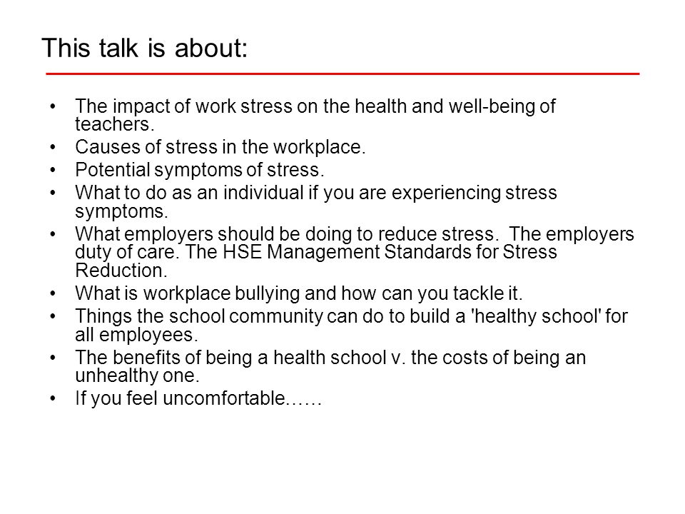 What employers should be doing to reduce stress.