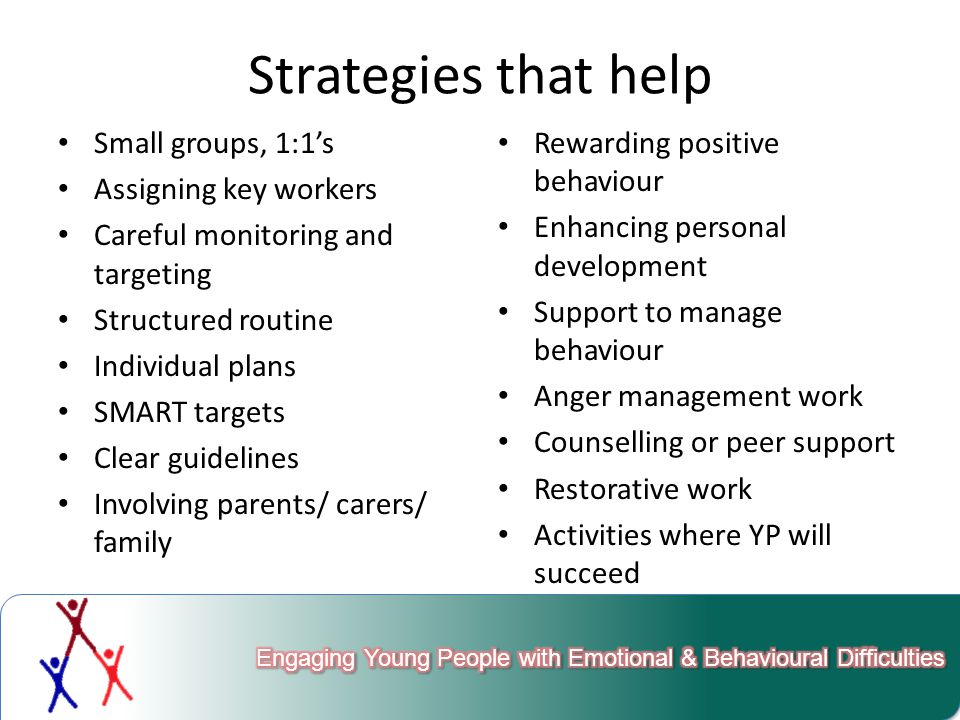 Nature or Nurture. What might be the causes of EBD in the young people that you work with.