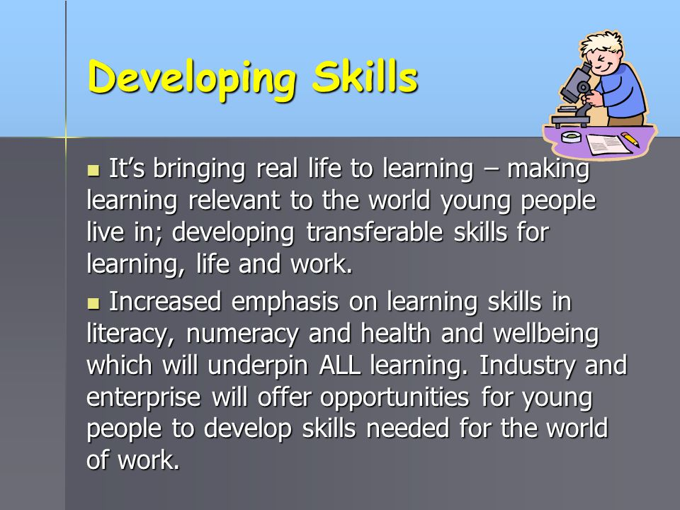 Improving Teaching and Learning by… putting the child at the very centre.